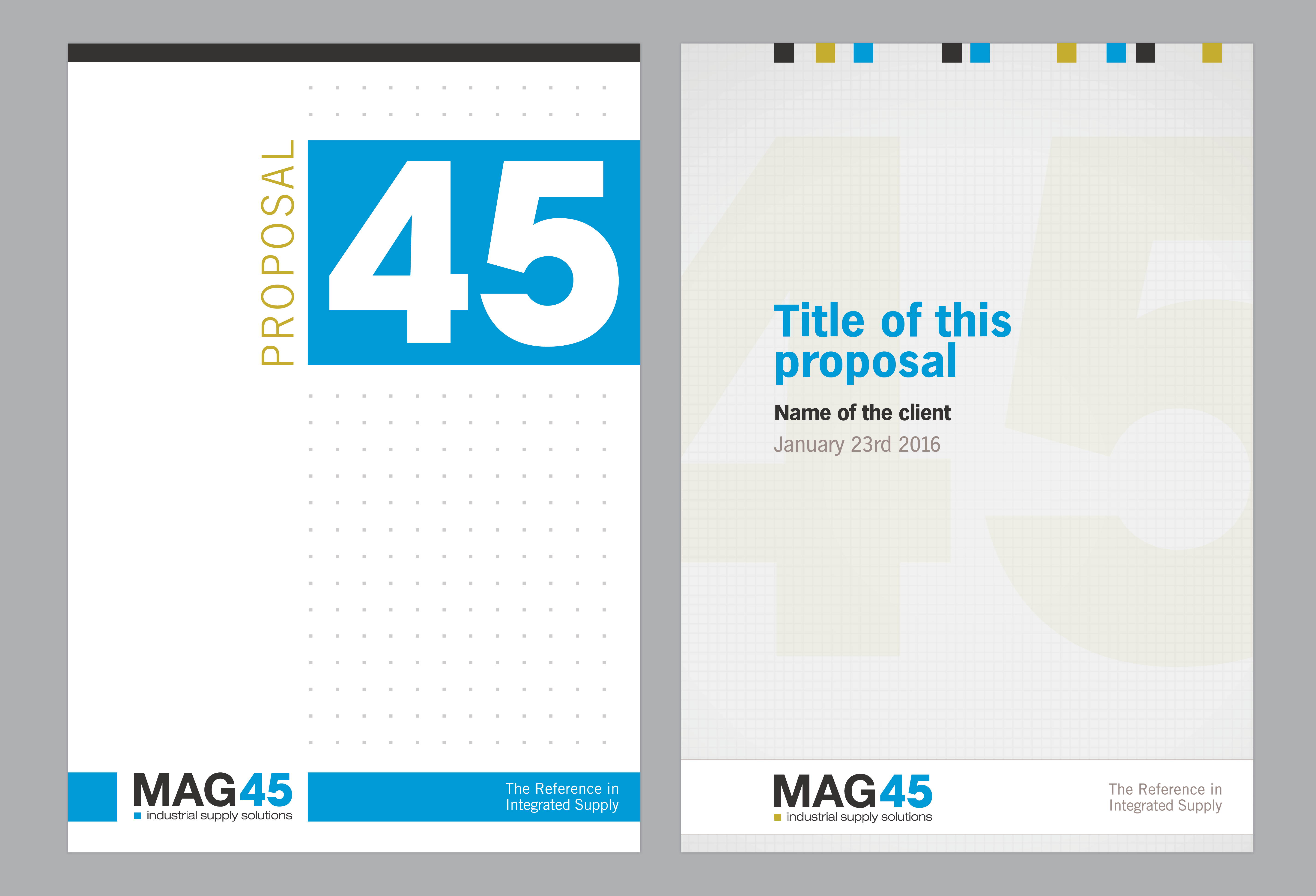 MAG45 omslagen