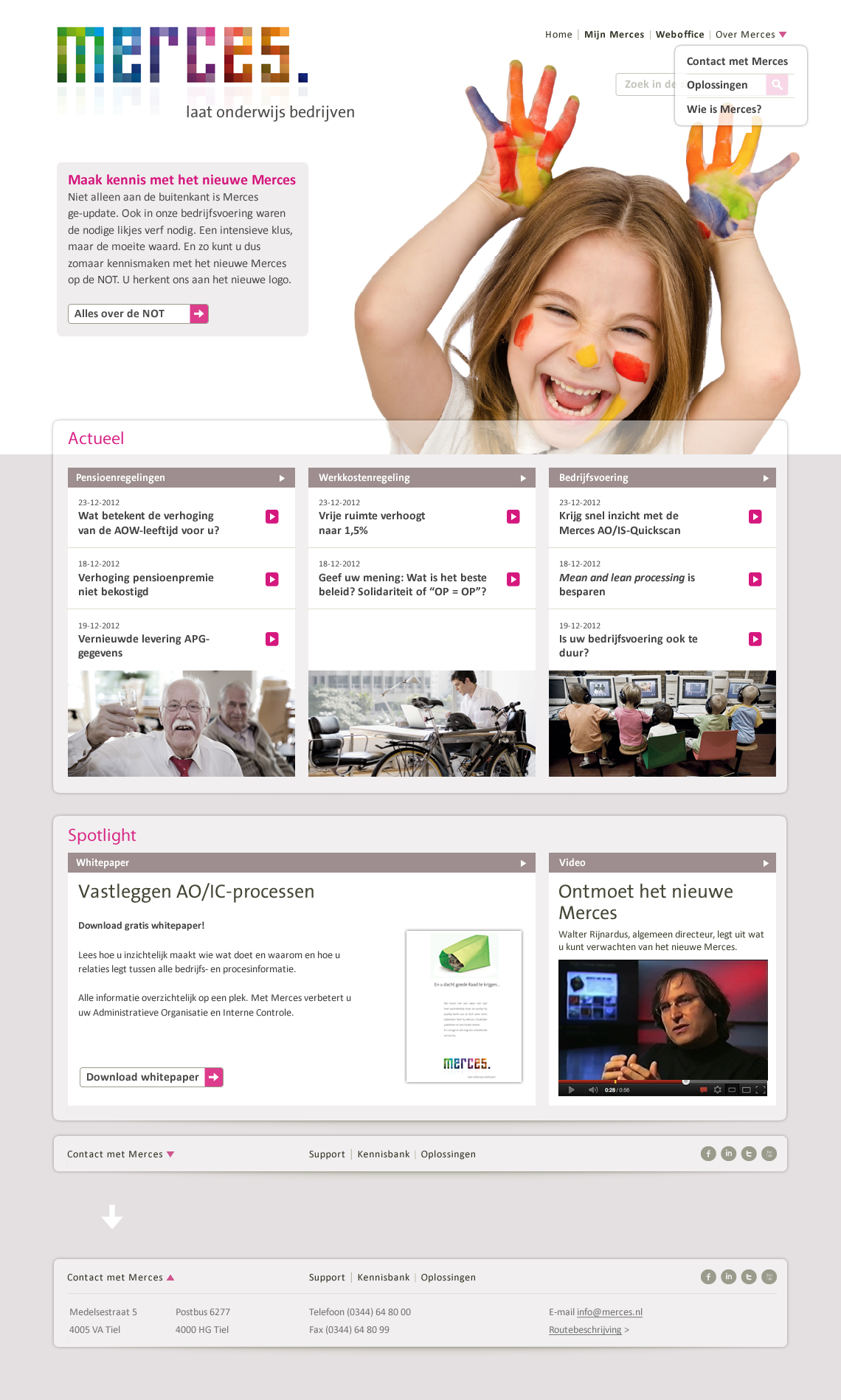 homepage Merces 20-03-2013