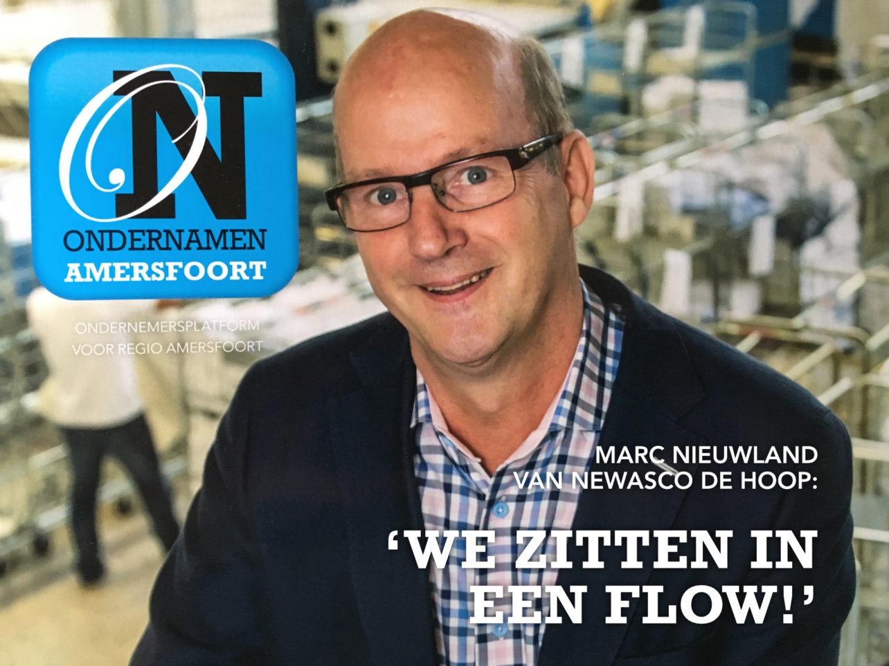 Marc Nieuwland op de voorpagina van Ondernamen